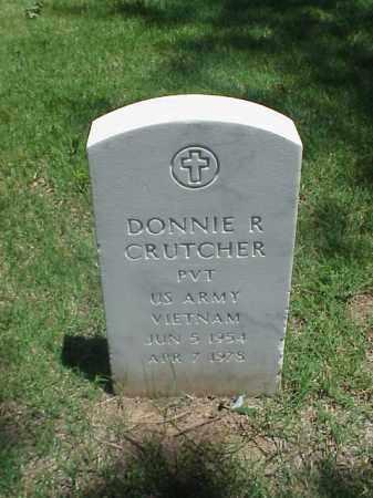 CRUTCHER (VETERAN VIET), DONNIE R - Pulaski County, Arkansas   DONNIE R CRUTCHER (VETERAN VIET) - Arkansas Gravestone Photos