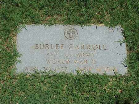 CARROLL (VETERAN WWII), BURLEE - Pulaski County, Arkansas | BURLEE CARROLL (VETERAN WWII) - Arkansas Gravestone Photos