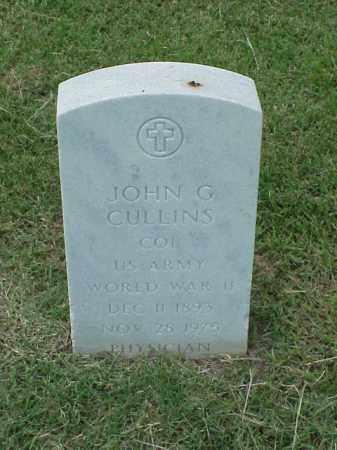 CULLINS (VETERAN WWII), JOHN G - Pulaski County, Arkansas   JOHN G CULLINS (VETERAN WWII) - Arkansas Gravestone Photos