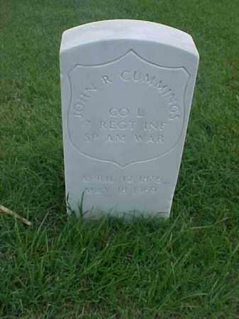 CUMMINGS (VETERAN SAW), JOHN R - Pulaski County, Arkansas | JOHN R CUMMINGS (VETERAN SAW) - Arkansas Gravestone Photos
