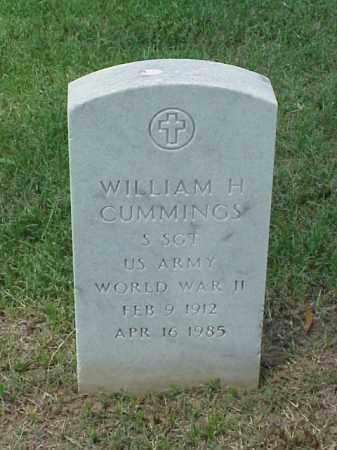 CUMMINGS (VETERAN WWII), WILLIAM H - Pulaski County, Arkansas | WILLIAM H CUMMINGS (VETERAN WWII) - Arkansas Gravestone Photos