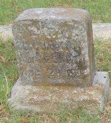CUNNINGHAM, BABY # 1 - Pulaski County, Arkansas | BABY # 1 CUNNINGHAM - Arkansas Gravestone Photos