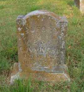 CUNNINGHAM, BUFORD - Pulaski County, Arkansas | BUFORD CUNNINGHAM - Arkansas Gravestone Photos