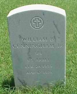 CUNNINGHAM, JR (VETERAN), WILLIAM  B - Pulaski County, Arkansas | WILLIAM  B CUNNINGHAM, JR (VETERAN) - Arkansas Gravestone Photos
