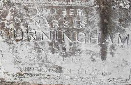 CUNNINGHAM, NARSIS - Pulaski County, Arkansas   NARSIS CUNNINGHAM - Arkansas Gravestone Photos