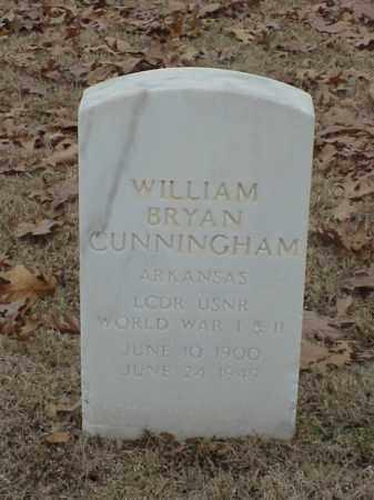 CUNNINGHAM (VETERAN 2 WARS), WILLIAM BRYAN - Pulaski County, Arkansas | WILLIAM BRYAN CUNNINGHAM (VETERAN 2 WARS) - Arkansas Gravestone Photos