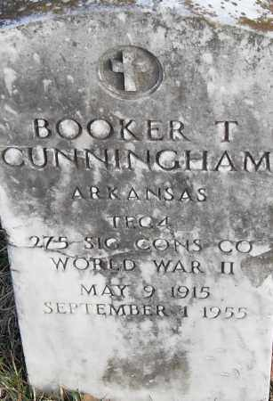 CUNNINGHAM (VETERAN WWII), BOOKER T - Pulaski County, Arkansas | BOOKER T CUNNINGHAM (VETERAN WWII) - Arkansas Gravestone Photos