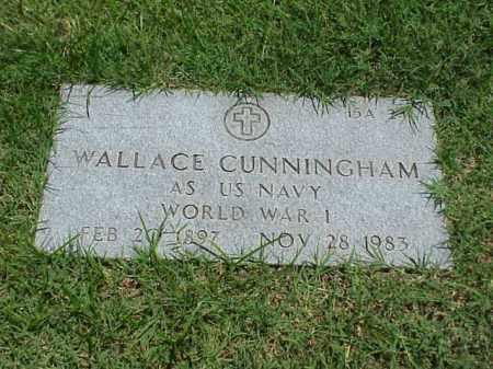 CUNNINGHAM (VETERAN WWI), WALLACE - Pulaski County, Arkansas | WALLACE CUNNINGHAM (VETERAN WWI) - Arkansas Gravestone Photos