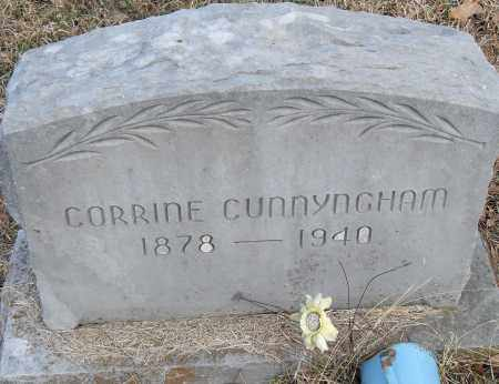CUNNYNGHAM, CORRINE - Pulaski County, Arkansas | CORRINE CUNNYNGHAM - Arkansas Gravestone Photos