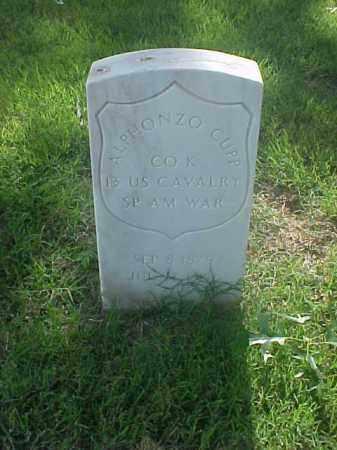 CUPP (VETERAN SAW), ALPHONZO - Pulaski County, Arkansas   ALPHONZO CUPP (VETERAN SAW) - Arkansas Gravestone Photos