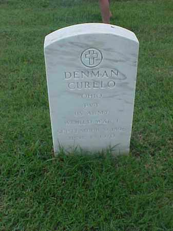 CURELO (VETERAN WWI), DENMAN - Pulaski County, Arkansas   DENMAN CURELO (VETERAN WWI) - Arkansas Gravestone Photos