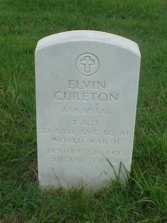 CURETON (VETERAN WWII), ELVIN - Pulaski County, Arkansas | ELVIN CURETON (VETERAN WWII) - Arkansas Gravestone Photos