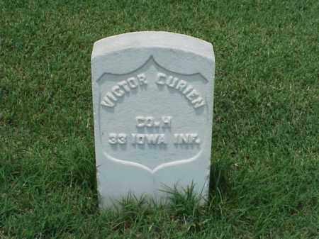 CURIER (VETERAN UNION), VICTOR - Pulaski County, Arkansas | VICTOR CURIER (VETERAN UNION) - Arkansas Gravestone Photos