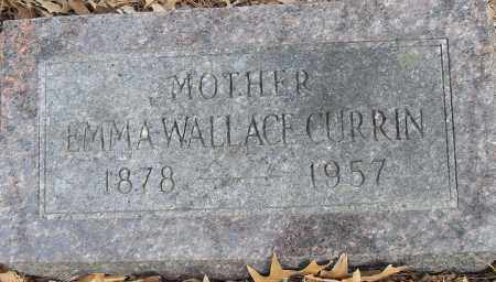 CURRIN, EMMA - Pulaski County, Arkansas | EMMA CURRIN - Arkansas Gravestone Photos