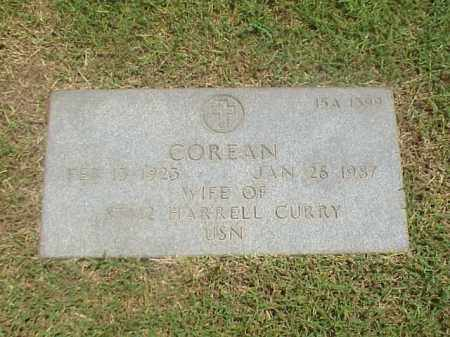CURRY, COREAN - Pulaski County, Arkansas | COREAN CURRY - Arkansas Gravestone Photos