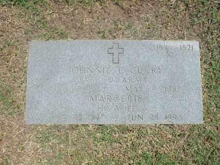 CURRY (VETERAN), JOHNNIE L - Pulaski County, Arkansas | JOHNNIE L CURRY (VETERAN) - Arkansas Gravestone Photos