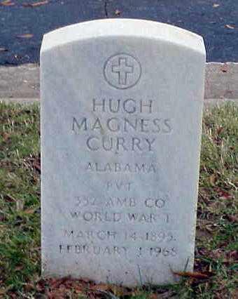 CURRY (VETERAN WWI), HUGH MAGNESS - Pulaski County, Arkansas   HUGH MAGNESS CURRY (VETERAN WWI) - Arkansas Gravestone Photos