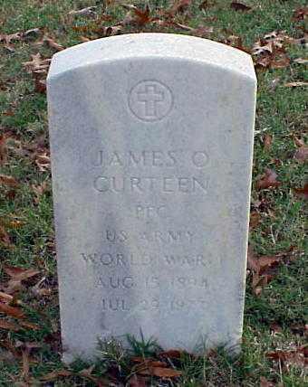 CURTEEN (VETERAN WWI), JAMES O - Pulaski County, Arkansas   JAMES O CURTEEN (VETERAN WWI) - Arkansas Gravestone Photos