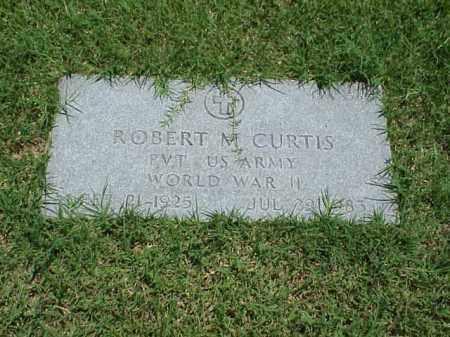CURTIS (VETERAN WWII), ROBERT M - Pulaski County, Arkansas   ROBERT M CURTIS (VETERAN WWII) - Arkansas Gravestone Photos