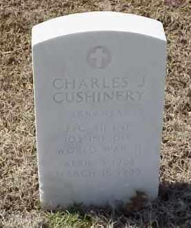 CUSHINERY  (VETERAN WWII), CHARLES J - Pulaski County, Arkansas | CHARLES J CUSHINERY  (VETERAN WWII) - Arkansas Gravestone Photos