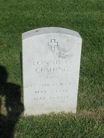 CUSHING (VETERAN), LONNIE C - Pulaski County, Arkansas   LONNIE C CUSHING (VETERAN) - Arkansas Gravestone Photos