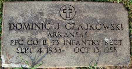 CZAJKOWSKI (VETERAN), DOMINIC J - Pulaski County, Arkansas | DOMINIC J CZAJKOWSKI (VETERAN) - Arkansas Gravestone Photos
