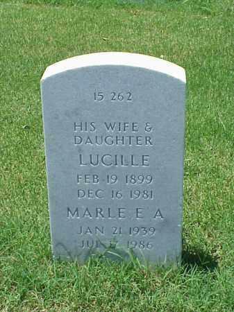 DAILEY, MARLE E A - Pulaski County, Arkansas | MARLE E A DAILEY - Arkansas Gravestone Photos