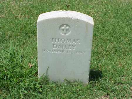 DAILEY (VETERAN UNION), THOMAS - Pulaski County, Arkansas | THOMAS DAILEY (VETERAN UNION) - Arkansas Gravestone Photos
