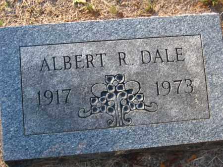 DALE, ALBERT R. - Pulaski County, Arkansas | ALBERT R. DALE - Arkansas Gravestone Photos