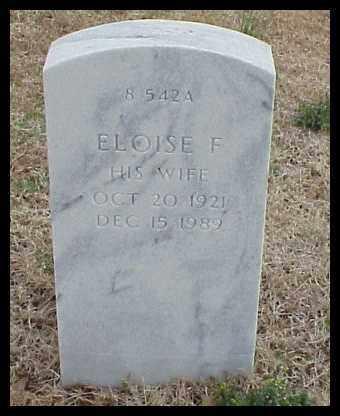 DALEY, ELOISE F - Pulaski County, Arkansas | ELOISE F DALEY - Arkansas Gravestone Photos