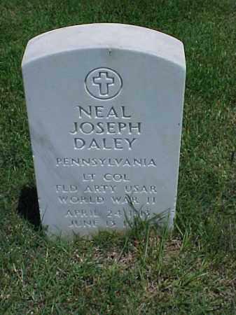 DALEY (VETERAN WWII), NEAL JOSEPH - Pulaski County, Arkansas   NEAL JOSEPH DALEY (VETERAN WWII) - Arkansas Gravestone Photos