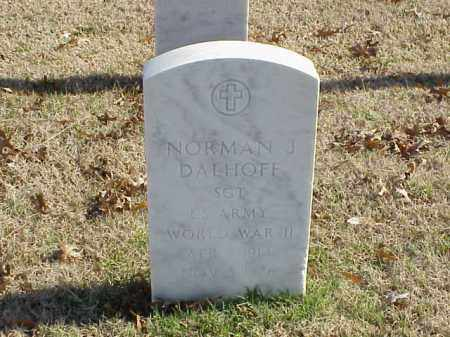 DALHOFF (VETERAN WWII), NORMAN J - Pulaski County, Arkansas | NORMAN J DALHOFF (VETERAN WWII) - Arkansas Gravestone Photos