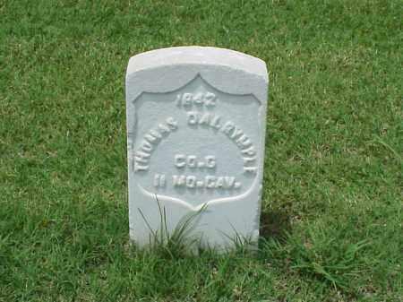 DALRYMPLE (VETERAN UNION), THOMAS - Pulaski County, Arkansas | THOMAS DALRYMPLE (VETERAN UNION) - Arkansas Gravestone Photos