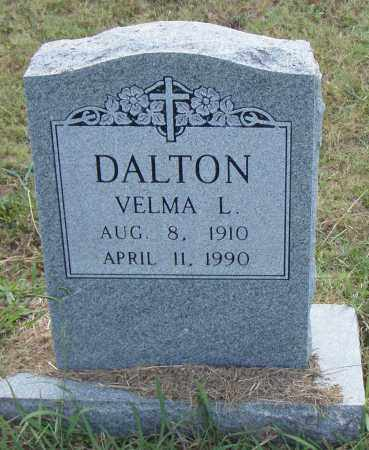 DALTON, VELMA L. - Pulaski County, Arkansas   VELMA L. DALTON - Arkansas Gravestone Photos