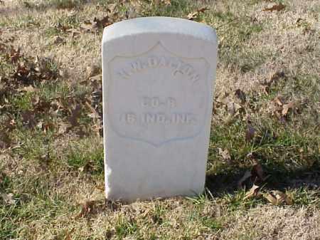 DALTON (VETERAN CSA), N W - Pulaski County, Arkansas | N W DALTON (VETERAN CSA) - Arkansas Gravestone Photos