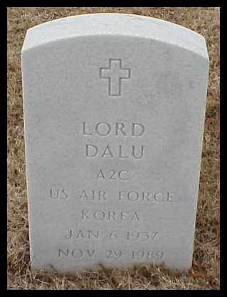 DALU  (VETERAN KOR), LORD - Pulaski County, Arkansas | LORD DALU  (VETERAN KOR) - Arkansas Gravestone Photos
