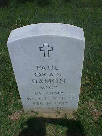 DAMON (VETERAN WWII), PAUL ORAN - Pulaski County, Arkansas | PAUL ORAN DAMON (VETERAN WWII) - Arkansas Gravestone Photos