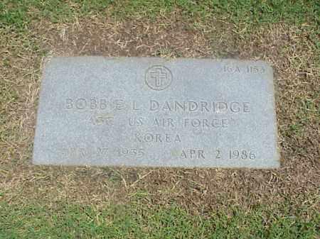 DANDRIDGE (VETERAN KOR), BOBBIE L - Pulaski County, Arkansas | BOBBIE L DANDRIDGE (VETERAN KOR) - Arkansas Gravestone Photos