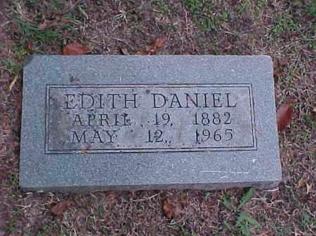 DANIEL, EDITH - Pulaski County, Arkansas   EDITH DANIEL - Arkansas Gravestone Photos