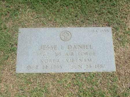 DANIEL (VETERAN 2 WARS), JESSIE LEROY - Pulaski County, Arkansas | JESSIE LEROY DANIEL (VETERAN 2 WARS) - Arkansas Gravestone Photos