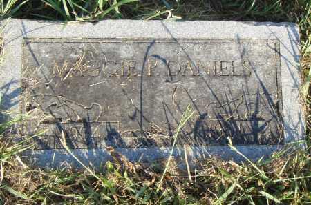 DANIELS, MAGGIE P. - Pulaski County, Arkansas | MAGGIE P. DANIELS - Arkansas Gravestone Photos