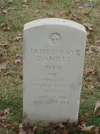 DANIELS (VETERAN 2 WARS), JAMES RAYE - Pulaski County, Arkansas   JAMES RAYE DANIELS (VETERAN 2 WARS) - Arkansas Gravestone Photos