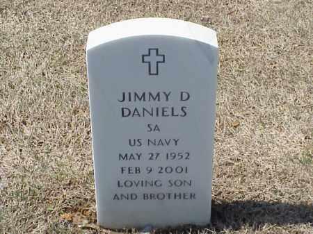 DANIELS (VETERAN), JIMMY D - Pulaski County, Arkansas | JIMMY D DANIELS (VETERAN) - Arkansas Gravestone Photos