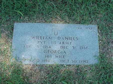DANIELS, GEORGIA - Pulaski County, Arkansas | GEORGIA DANIELS - Arkansas Gravestone Photos