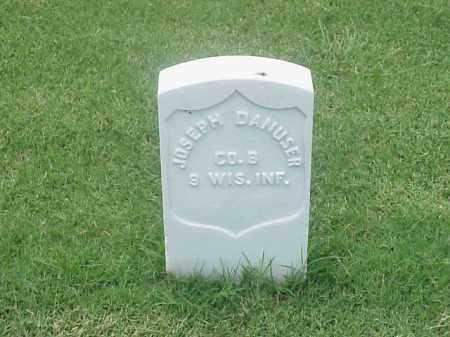 DANUSER (VETERAN UNION), JOSEPH - Pulaski County, Arkansas | JOSEPH DANUSER (VETERAN UNION) - Arkansas Gravestone Photos
