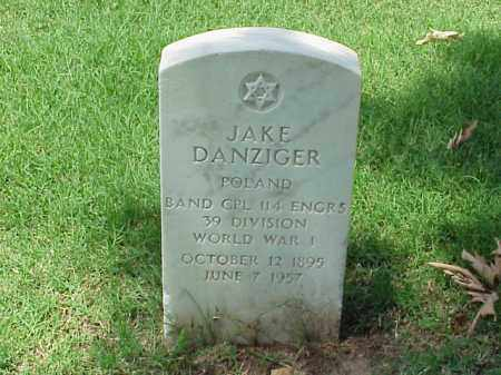DANZIGER (VETERAN WWI), JAKE - Pulaski County, Arkansas   JAKE DANZIGER (VETERAN WWI) - Arkansas Gravestone Photos