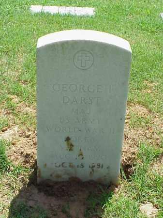 DARST (VETERAN 3 WARS), GEORGE I - Pulaski County, Arkansas | GEORGE I DARST (VETERAN 3 WARS) - Arkansas Gravestone Photos
