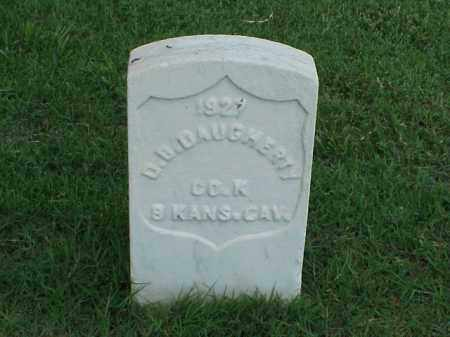 DAUGHERTY (VETERAN UNION), D B - Pulaski County, Arkansas | D B DAUGHERTY (VETERAN UNION) - Arkansas Gravestone Photos