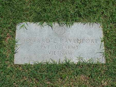 DAVENPORT (VETERAN VIET), HOWARD E - Pulaski County, Arkansas | HOWARD E DAVENPORT (VETERAN VIET) - Arkansas Gravestone Photos