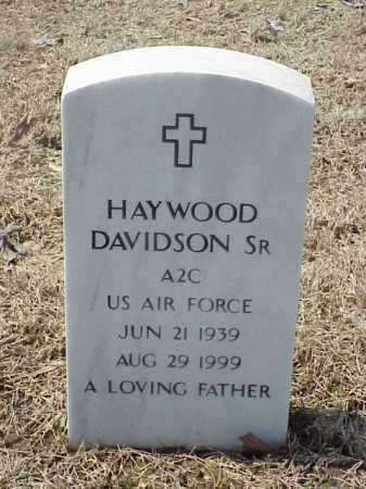 DAVIDSON, SR  (VETERAN), HAYWOOD - Pulaski County, Arkansas | HAYWOOD DAVIDSON, SR  (VETERAN) - Arkansas Gravestone Photos